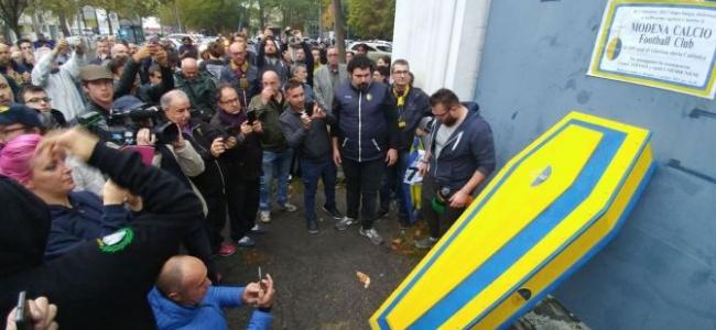 Ufficiale l'esclusione del Modena dal campionato di Serie C : ecco cosa cambia in classifica