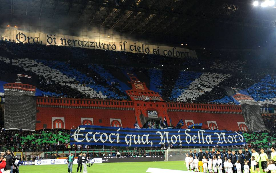 Speaciale Derby : Le coreografie dell'Inter